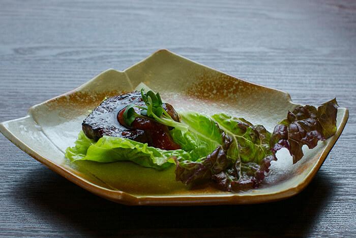 味道源 極味コース 焼物 和牛ハラミのレタス包み コチジャンソース