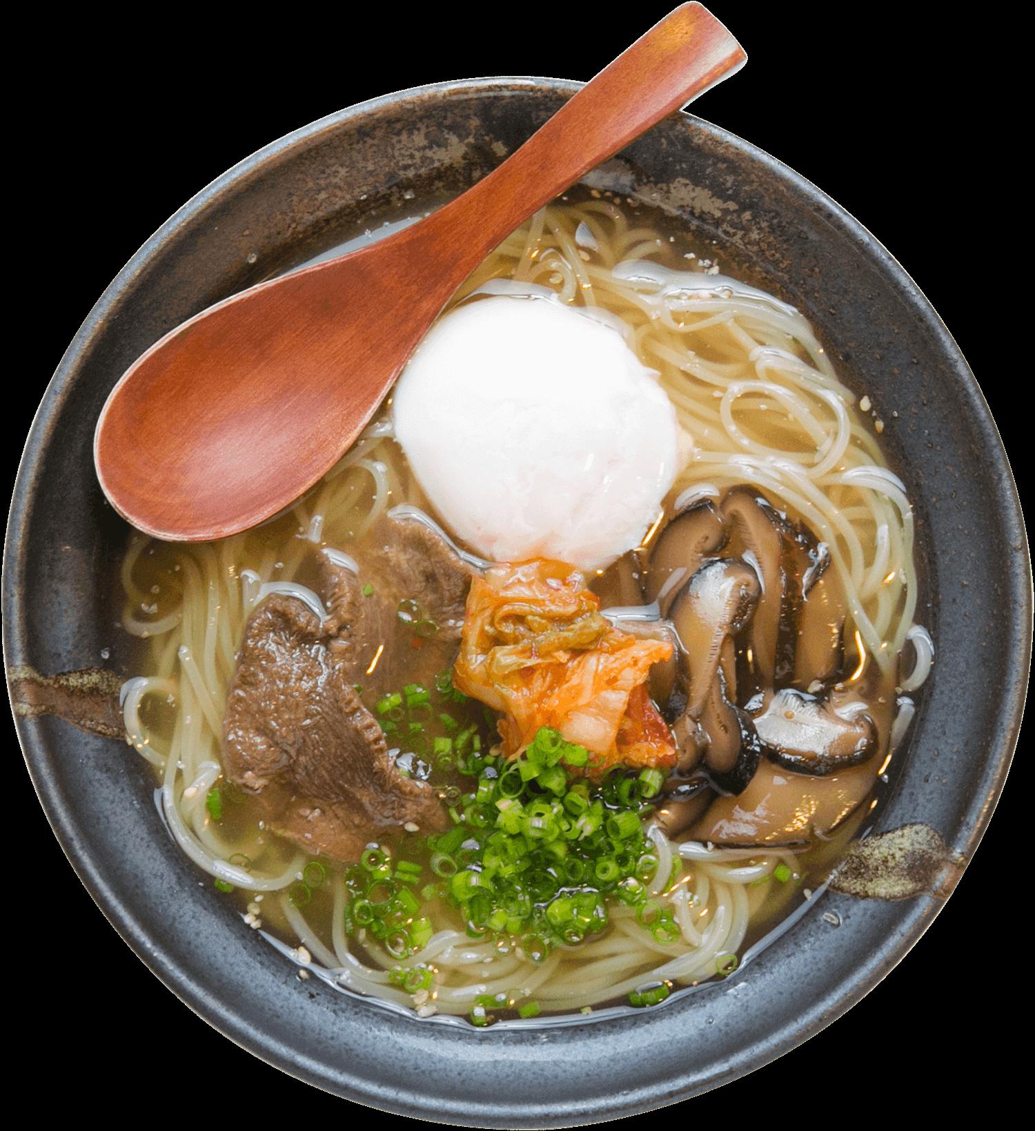 韓国冷麺の写真です。